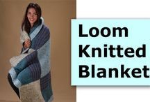 Loom Knitting Patterns / Patterns for different loom shapes and sizes