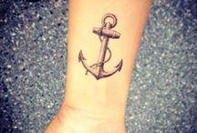 Tatuaże z kotwicą