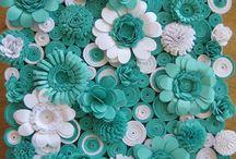 kytky točené zelbílé