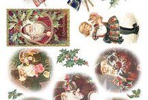 papier vianoce