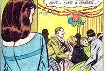 Comics Vintage women