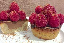 choc raspberry tart