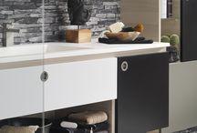 Jazz badmeubelen / Met een vleugje jaren 60 design, is Jazz een eigenwijze en opvallende meubellijn. Uw badkamer wordt meer een volwaardige leefruimte, zeker in de multi-color versie. Durf te stylen!