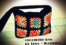 crocheted bags by Lena and Katerina  / Crocheted bags