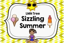 Sizzling Summer / Resources, Lesson, Activities, and Ideas about Summer for Teachers and Parents