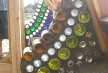 pared de botellas