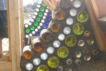 pared de botellas