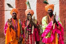 colourful costumes