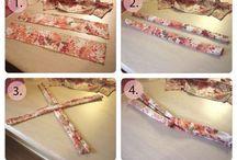 Sewing headbands & flower / by Shari Pruett
