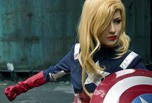 Captain America (female) best of