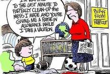 Cartoons / Political cartoons