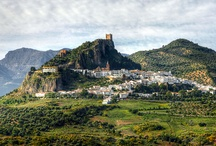 MY ANCESTRAL HOME: ZAHARA DE LA SIERRA, SPAIN and the surrounding towns / by Jason C Olivero