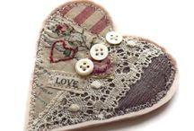 Heart brooch craft