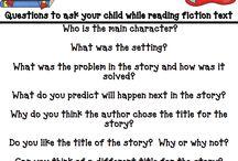 Reading for Kindergarten / by Emily Harrell