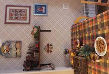 Новогодний декор дома / Что сделано для своего дома, вдохновившись идеями и тем, что попало в руки.