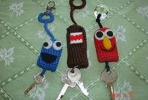 Crochet key ring / key chain