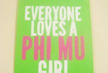 Phi Mu Lady / by Betsy Packard