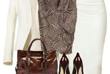 Moda amb faldilla estreta / MODA