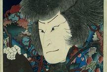 Japanese Painting  -  Ukiyo Ewoodblock Prints