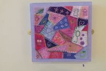 Crazy Patchwork / Lots of lovely crazy  patchwork techniques and designs