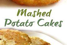 Mashed potato cakes !!