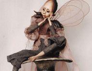 Adorable art/textile creations / by Linette van der Merwe