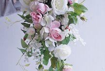 Umělá svatební kytice