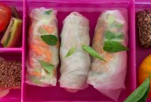 Healthy lunch boxes / Healthy lunch box ideas for Well Nourished children