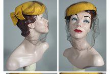 Vintage - Hats & Headpieces & Hairflowers