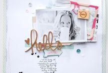 ~ Scrapbooking - Inspiration ~