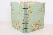 Hand bound books / Hand bound books are absolutely a beautiful thing.  / by Kristin Wilson