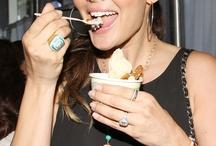 Celebs enjoying ice cream!
