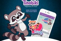 Tinotiki / Tinotki is the new sticker for your viber! Cheerful and mischievous friends