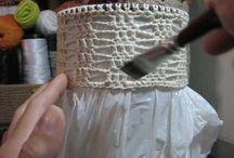 enfurecer labores de crochet