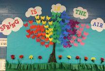 İlkbahar pano