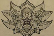 my tattoo work and art / my work