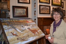Art- Pat Gamby / Sharing the artwork of Pat Gamby, living on an Oho farm and painting scenes of rural life and animals, she creates many of her works in Egg Tempera.