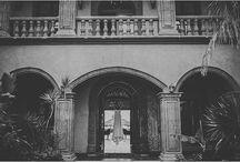 Brook & Blake Destination Wedding at Hacienda Cerritos / Wedding floral design