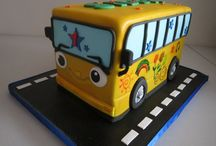 wheels on the bus themed party ideas