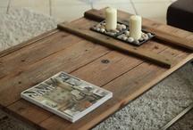 Alte Möbel selbst gestalten / Esstisch, Wohnzimmertisch