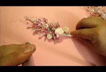 Paper and Fabric flowers / by Lillian