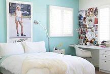 Blue teen room
