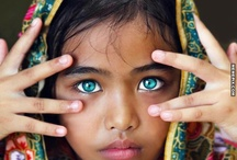 eyes r the window of the soul / Beautiful stunning piercing eyes its the first thing I notice when speaking or meeting someone and I never seem to forget their eye colour