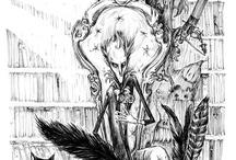 Art Carine-M / #art #dessin #draw #illustration