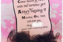 Birthday Ideas / by Lindsay Durham
