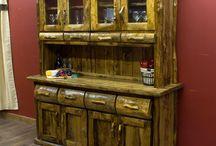 muebles rústicos en maderas