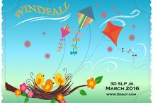 March 2016: 3D SLP JR.: Windfall / Up, up and away we go with a fresh spring breeze! Our March 2016: 3D SLP JR box: Windfall is full of surprises targeting prepositions, weather, shapes, wind and predictions!