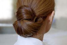 Make-up and Hair bun