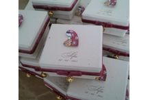 Cajitas decenarios para comunión , bautismo, cumpleaños  totalmente  personalizadas y hechas a mano