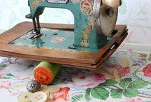 Sewing machines / by Tiffany Vela